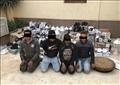 4 أشخاص سرقوا مخزن شركات حسن علام بالبساتين