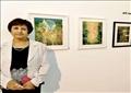 الفنانة التشكيلية الأردنية، نعمت الناصر