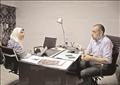 محمد فؤاد نائب برلماني عن حزب الوفد تصوير احمد عبد الفتاح