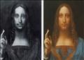 """لوحة """"سالفاتور مندي"""" للفنان ليوناردو دافنشي"""