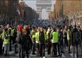 جانب من المظاهرات الفرنسية