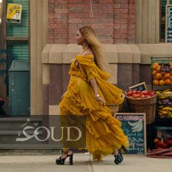 فساتين مستوحاة من فستان بيونسيه الأصفر من تصميم دار غوتشي