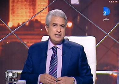 الإعلامي وائل الإبراشي في برنامج العاشرة مساء