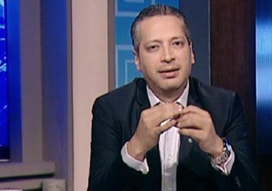 الاعلامي تامر امين - ارشيفية