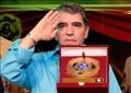 الفنان محمود الجندى أثناء تكريمه فى مهرجان افاق