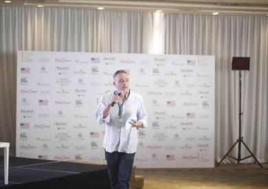 محمد حفظي رئيس مهرجان القاهرة السينمائي الدولي