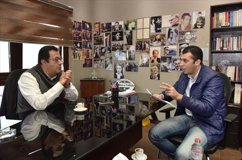 محرر الشروق مع محمد هاني تصوير حليم الشعراني