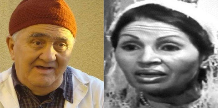 الفنانين الجزائريين نورية قزدرلي وبشير بن محمد