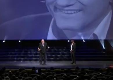 جيرارد ديبارديو يحصل على جائزة الإنجاز الإبداعي من مهرجان الجونة