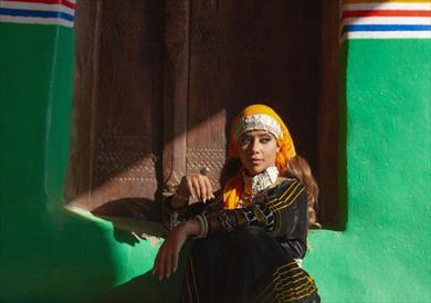 بلقيس بالزي البدوي في فيديو كليب جنوب الدرب