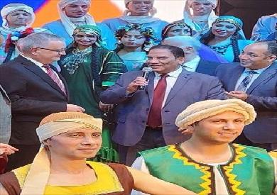 السفير الروسي يحضر ختام حفلات «فرقة رضا»