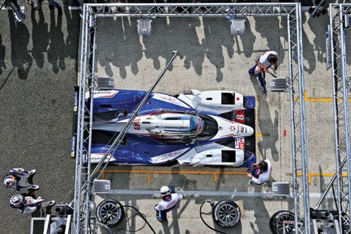 تويوتا مستعدة لتحدى Le Mans -