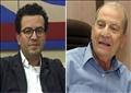 الدكتور محمد أبو الغار والأديب هشام مطر