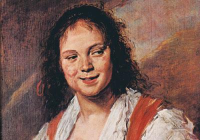 لوحة البوهيمية للفنان فرانز هالز