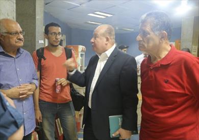 خلال عرض خاص للفيلم التسجيلى أوتار مصرية