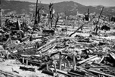 اثار قنبلة هيروشيما