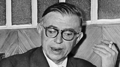 الكاتب الفرنسي جان بول سارتر