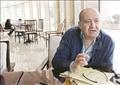 الكاتب وحيد حامد  تصوير-إبراهيم عزت