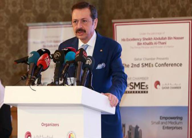 رفعت اوغلو رئيس اتحاد الغرف والبورصات التركية