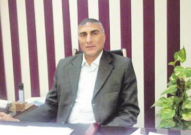 المهندس امين حسين رئيس جهاز المدينة