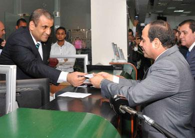 السيسي يتبرع لصالح صندوق «تحيا مصر»