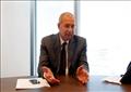 يحيى زكى رئيس مجلس إدارة شركة دار الهندسة مصر الفائزة ضمن بتصميم تنمية محور قناة السويس   تصوير هبة الخولى