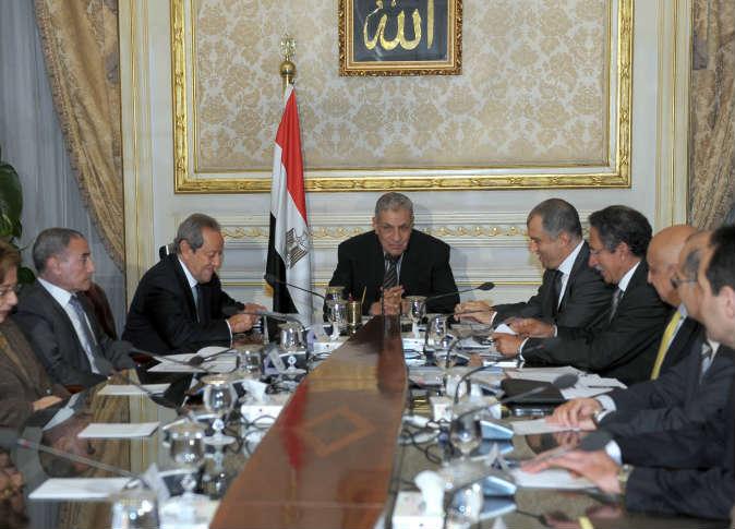 اجتماع لمجلس الوزراء برئاسة محلب - أرشيفية