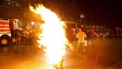 طالب يشعل النار في نفسه لرسوبه بالثانوية العامة في سوهاج