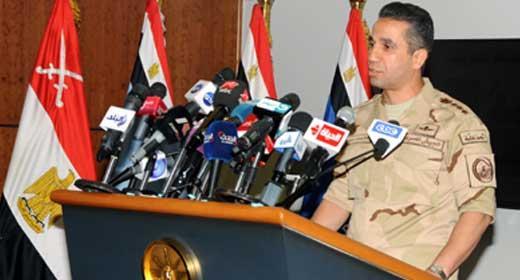 العميد محمد سمير المتحدث العسكري