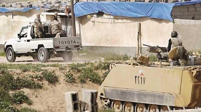استشهاد فرد أمن بالشيخ زويد.. ومقتل وإصابة 3 عمال جنوب العريش
