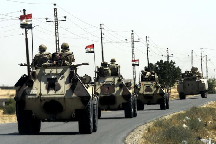 القضاء على 14 إرهابيا وتفكيك 10 عبوات ناسفة في سيناء