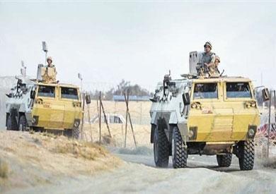 حملة أمنية بشمال سيناء-ارشيفية