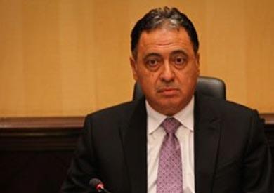 الدكتور أحمد عماد راضي وزير الصحة والسكان