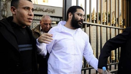 محاكمة علاء عبدالفتاح- أرشيفية