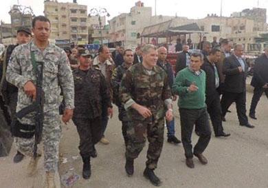 بالصور.. انتشار أمني في شمال ووسط سيناء لملاحقة «الإرهابيين»
