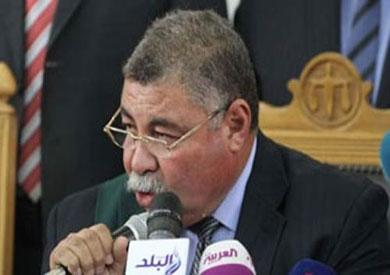 المستشار حسن فريد الذي ينظر عدد من قضايا الإرهاب