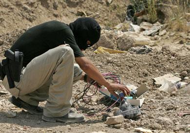 إبطال مفعول عبوة ناسفة في شمال سيناء