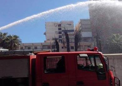 السيطرة على حريق شب في مبنى مجلس مدينة طوخ بالقليوبية