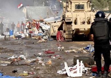 فض اعتصام رابعة - ارشيفية