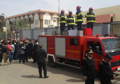 جنازة عسكرية للمقدم محمد سويلم