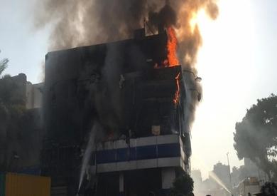 حريق وكالة البلح صورة أرشيفية