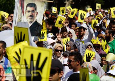 مظاهرة لأنصار الإخوان-ارشيفية