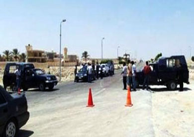 إحباط هجوم إرهابي على أحد الأكمنة الأمنية بالعريش