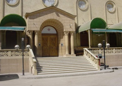 كنيسة ماري جرجس بسوهاج - أرشيفية