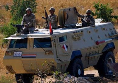 استشهاد 8 جنود وإصابة 2 آخرين في انفجارعبوة ناسفة بمدرعة غرب رفح