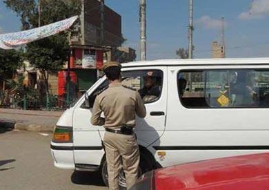 ضبط 2449 هاربا من أحكام وتحرير 2408 مخالفات مرورية بالبحيرة