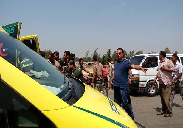مصرع 6 أشخاص وإصابة 20 آخرين في حادث تصادم بطريق العلمين