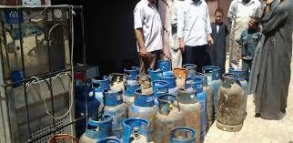 ضبط 15 طن تمر هندي و30 اسطوانة غاز مدعمة بالبحيرة