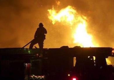 قوات الحماية المدنية تطفئ حريق بفرع موبينيل