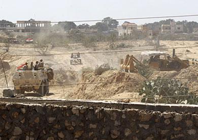 أرشيفية لعمليات عسكرية في سيناء